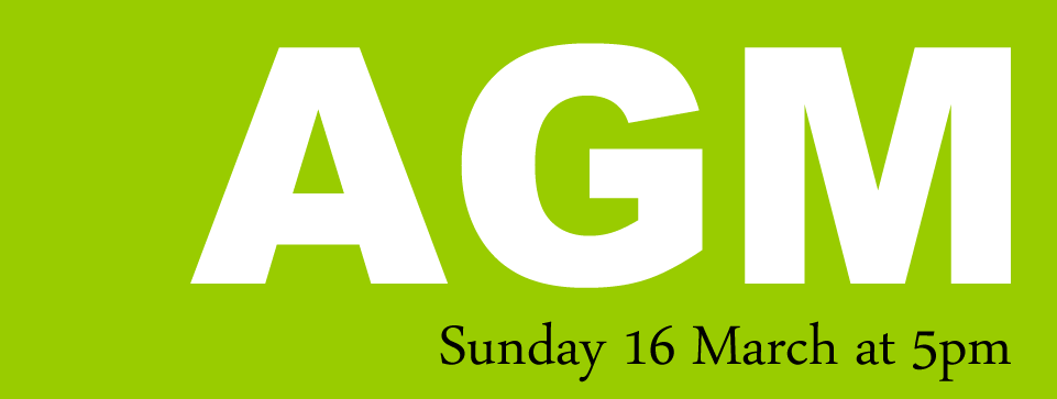 Camber AGM 16 March ‏5pm