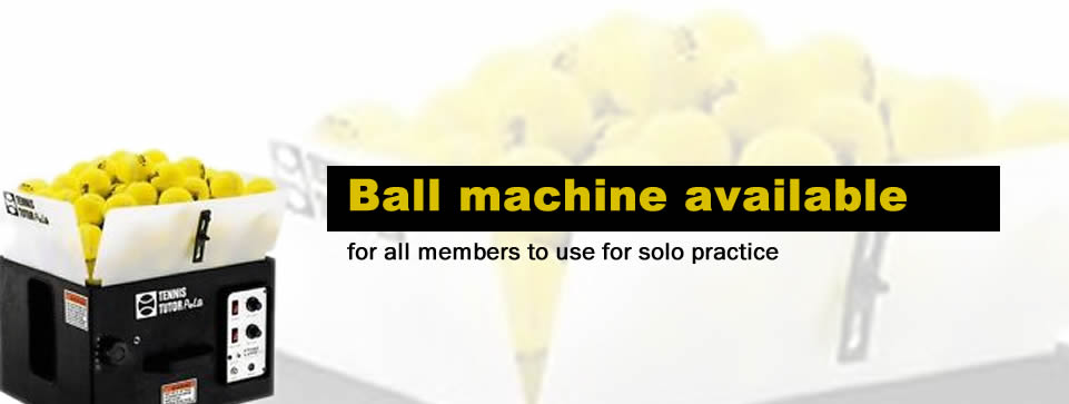 Ball machine available