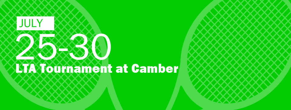 LTA Tournament at Camber 25-30 July